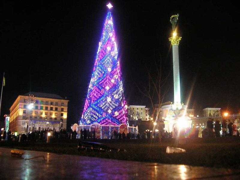 Главная новогодняя елка Украины