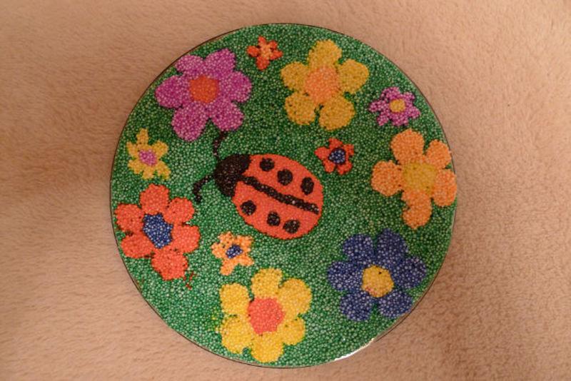 Поделки из шарикова пластилина фото