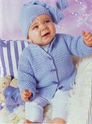 вязание спицами кофты для мальчика схемы вязание на годовалых