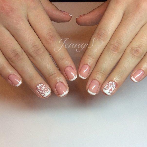 Гель лак свадебные ногти