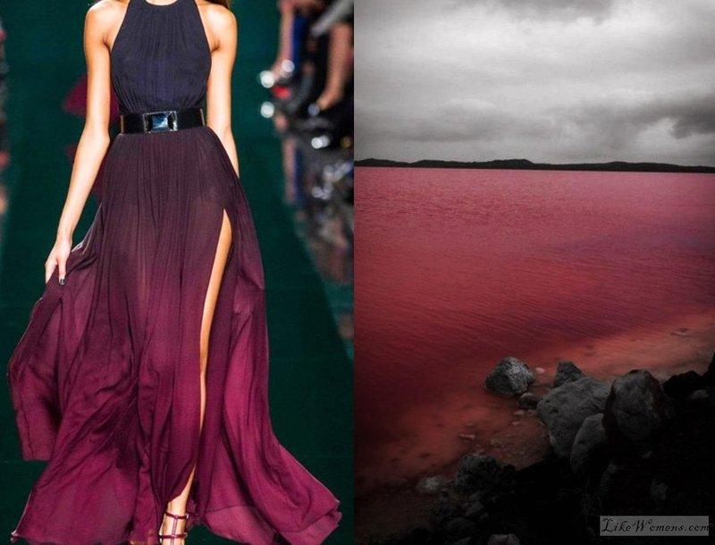 Дизайнеры в рамках проекта «Fashion & Nature» решили посоревноваться с природой и создателем в креативном ощущении прекрасного. Разве можно изобразить явления природы в одежде? Оказывается - можно!