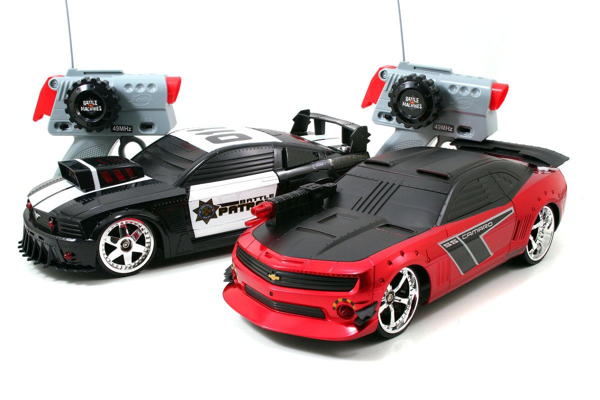 171 Battle Machines для детей Боевые РУ машины Mustang Gt и