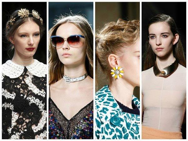 Досконалість образу створюють аксесуари. На сьогодні дизайнери пропонують модні  аксесуари весна літо 2017 року фото 56c89bd1efd17