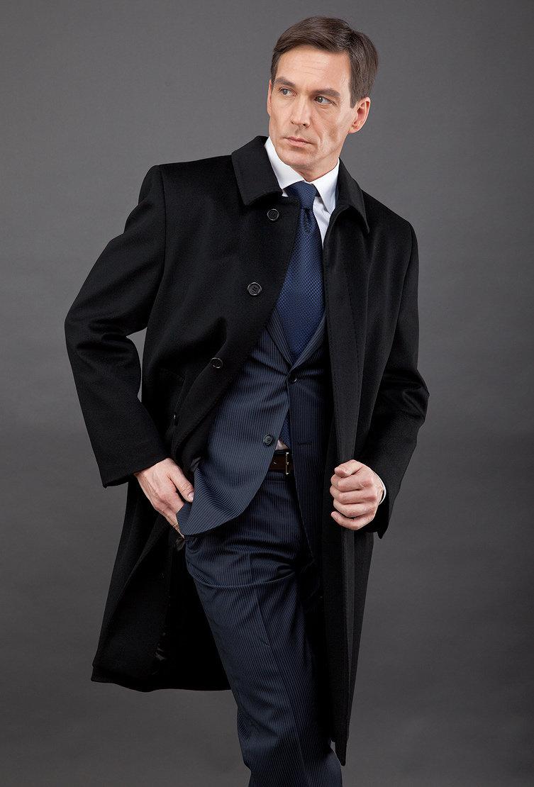 Классическое пальто и ботильоны