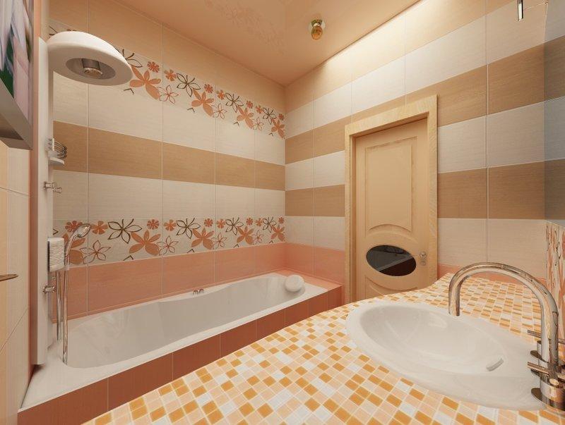 Дизайн интерьера ванной комнаты (фото)