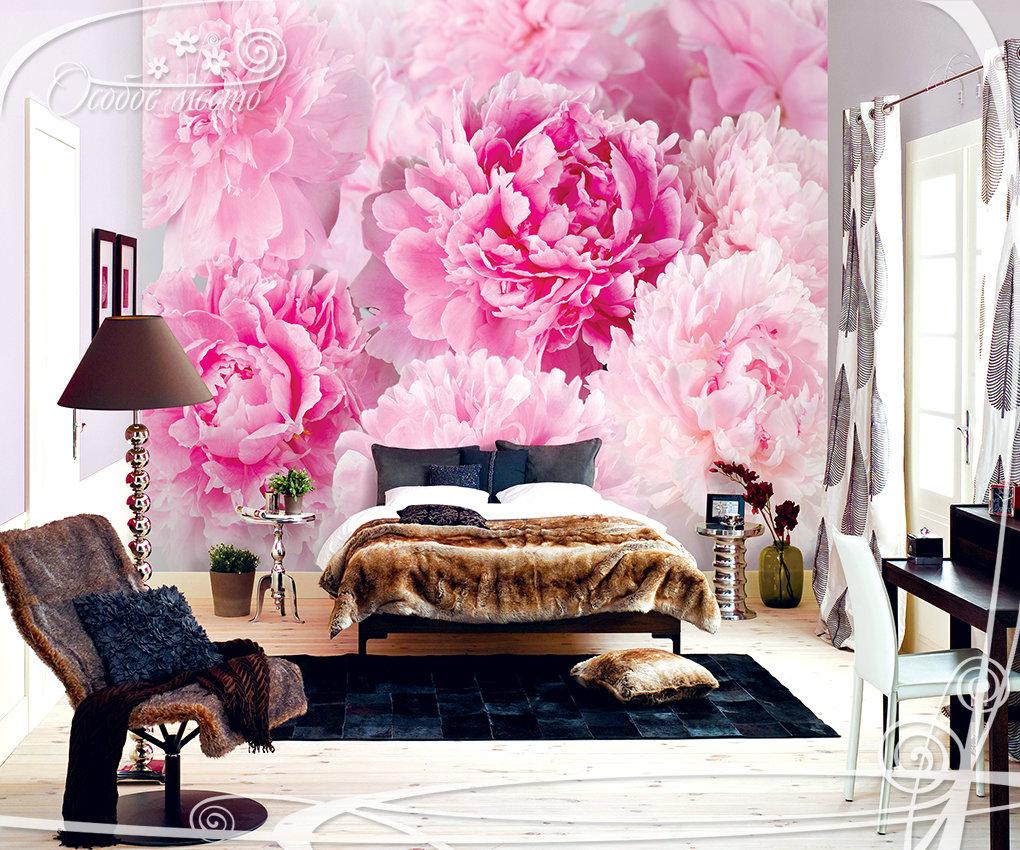 отдыха имеет обои для спальни с крупными цветами фото легкий обед, ужин