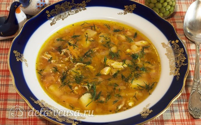 суп из куриных крылышек рецепт с фото