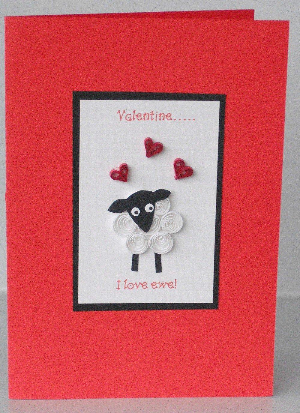 Приколы сто, открытка своими руками овечка