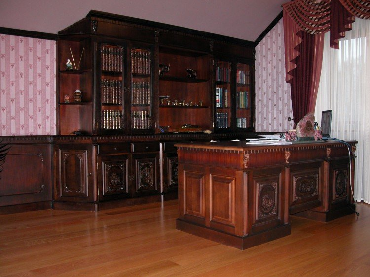 Идеи интерьера кабинета.