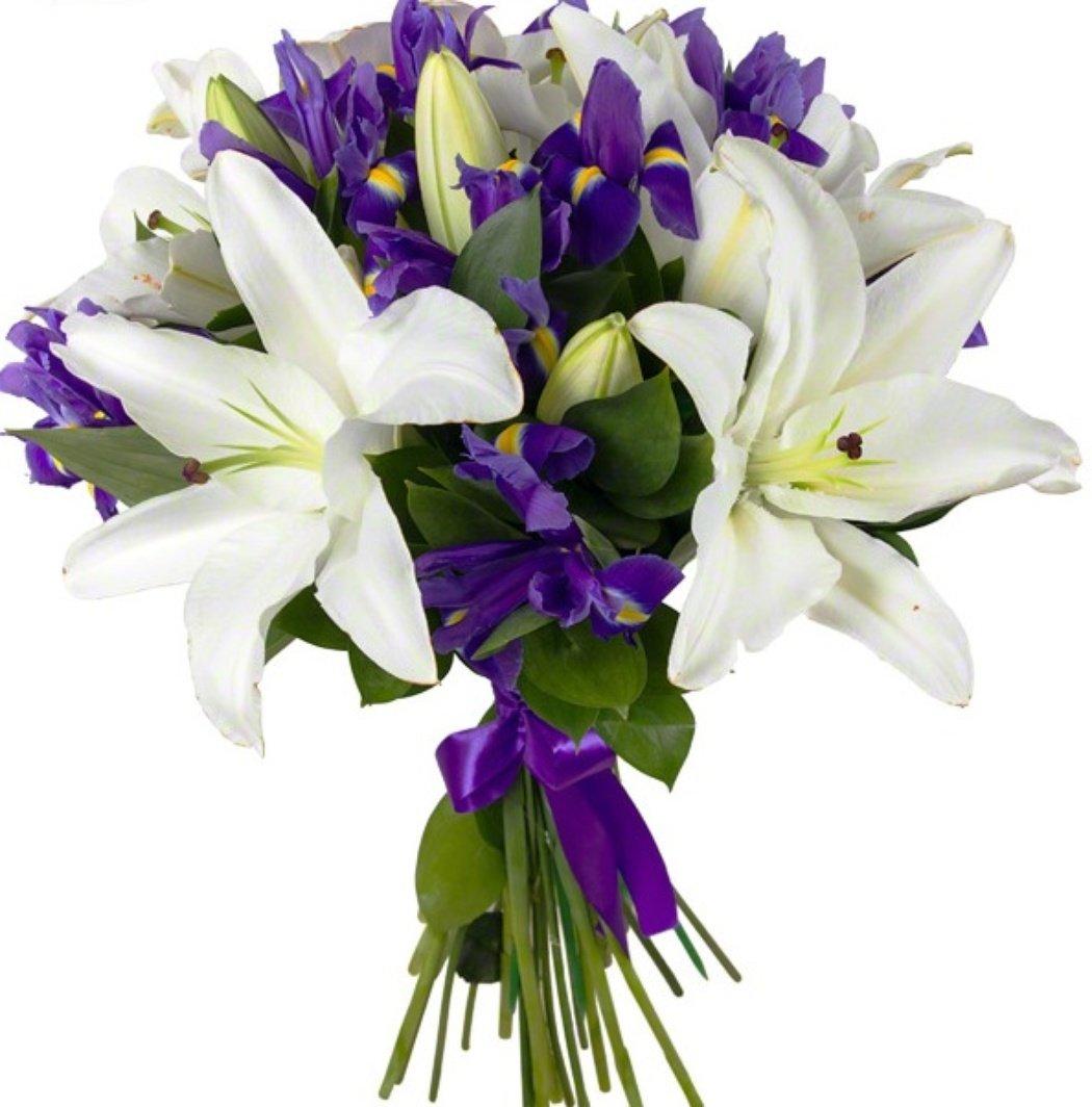 Невесты, заказ цветов в белой калитве