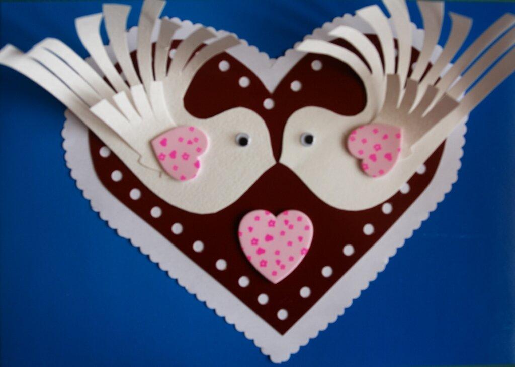 Открытки к дню святого валентина своими руками для детей