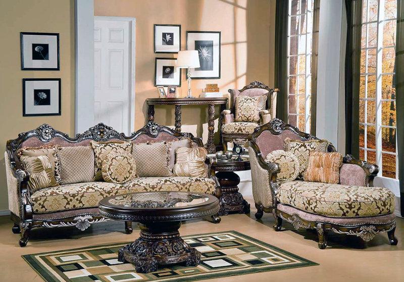 Обивка мебели. Викторианский стиль