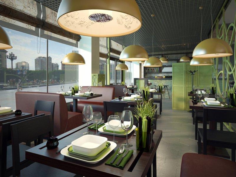 Дизайн проект ресторана стоимость