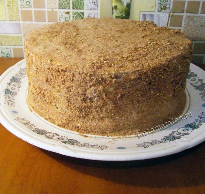 Рецепт торта медовик с пошаговым фото