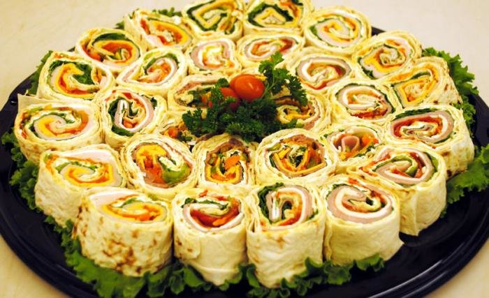 Рецепты приготовления празднечных салатов