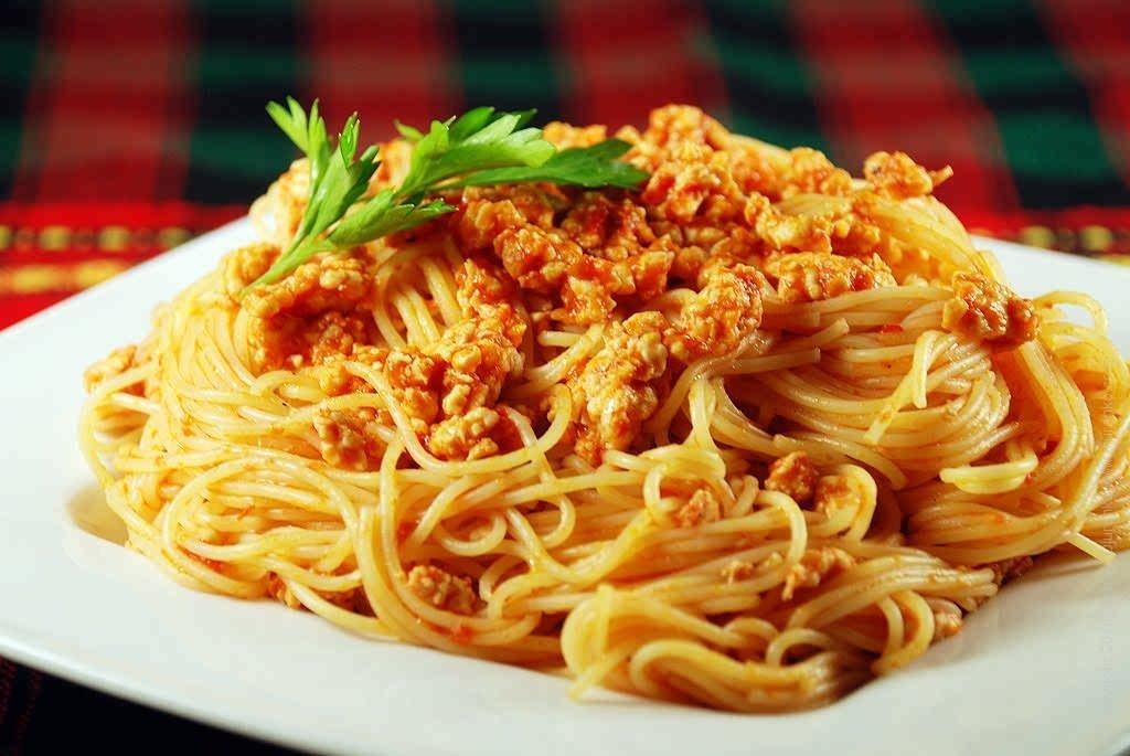 представленная блюда из спагетти рецепты с фото через