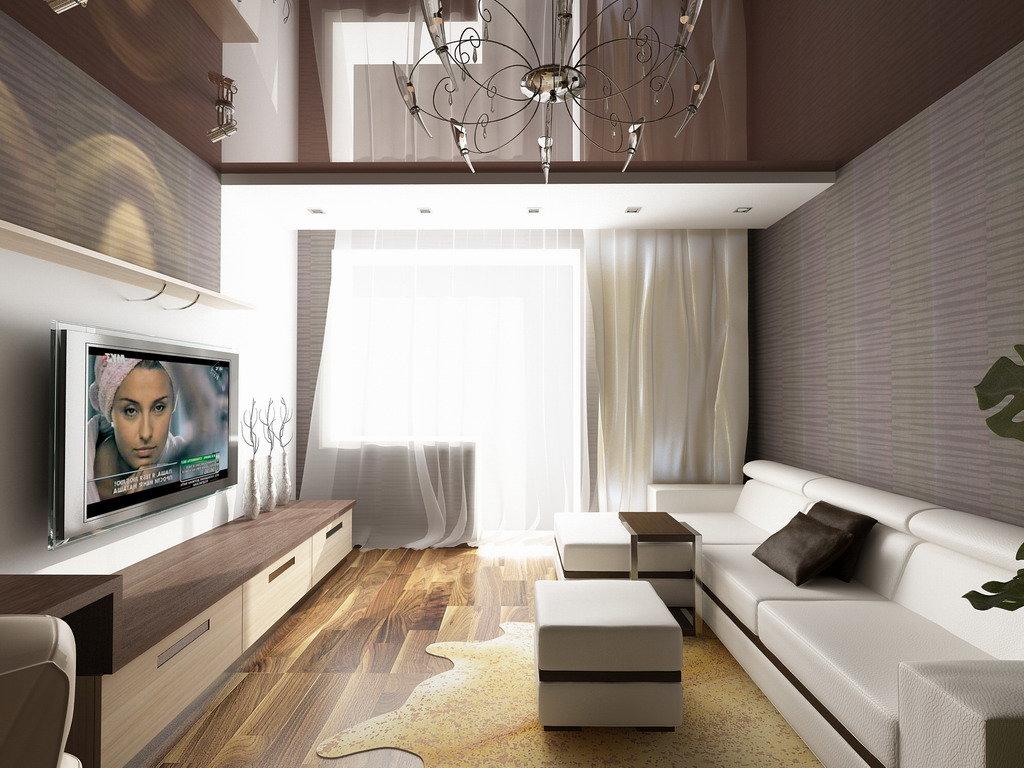 как современно обставить однокомнатную квартиру