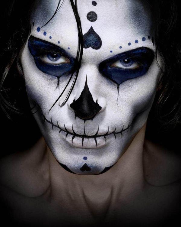 298Фото макияж на хэллоуин в домашних условиях