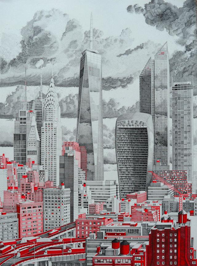 мегаполис картинки рисунки позволит женщине быстрее