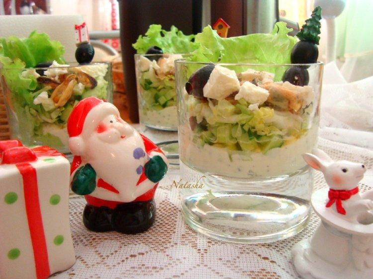 Салат с мидиями - Простые рецепты Овкусе.ру