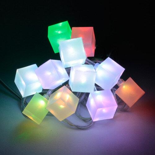 """Светодиодная гирлянда """"Ледяные кубики"""" ORIENT NY5075N, питание от USB"""