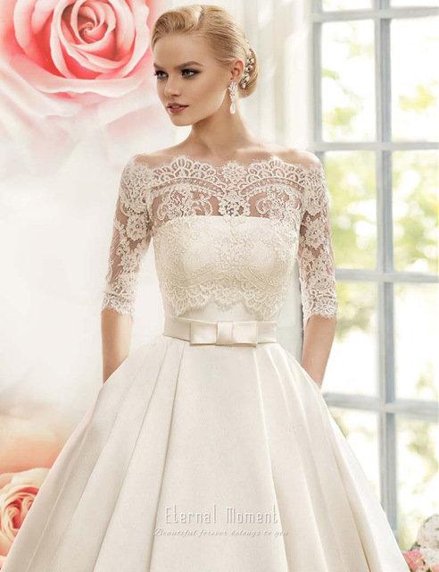 Атласные свадебные платья купить москва