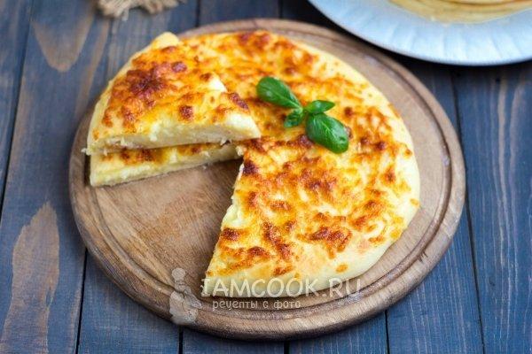Простой хачапури с сыром рецепт с фото