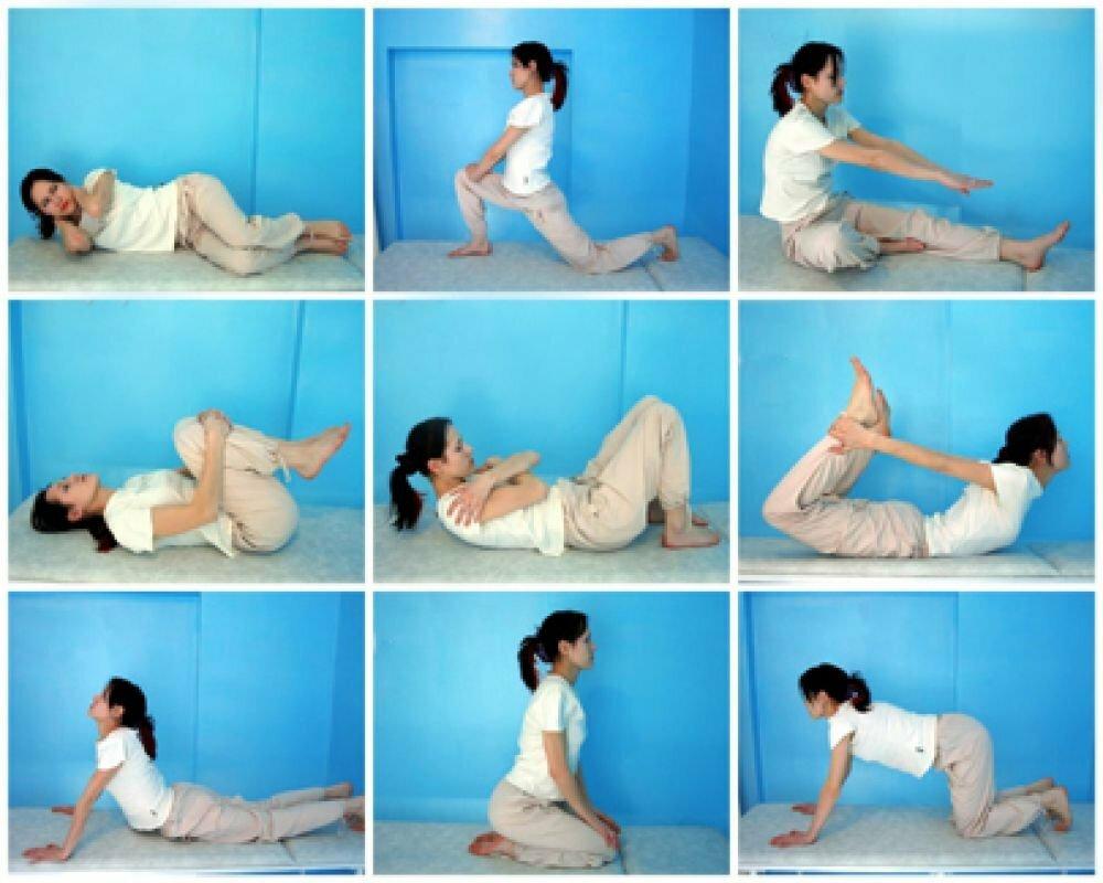 Физкультура при протрузии поясничной области
