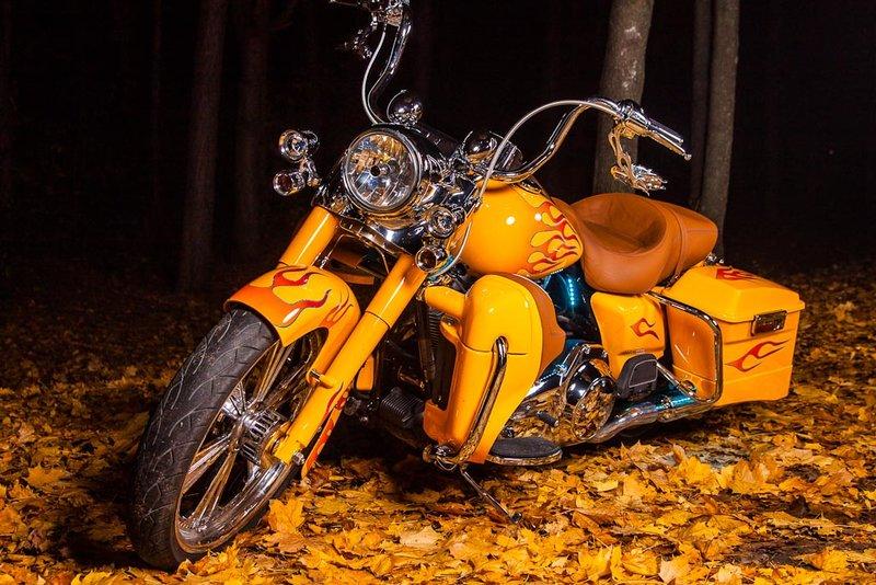 Аэрография на мотоциклах