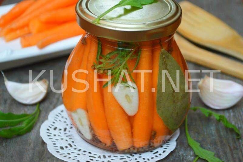 Маринованный лук с морковью на зиму
