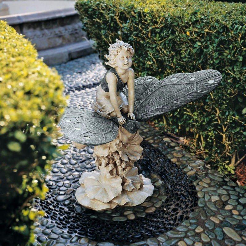 бронзовый сказочный фонтан