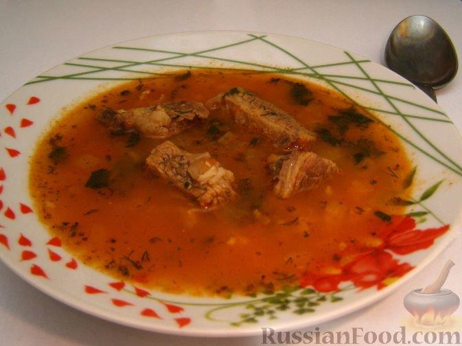 харчо рецепт помидоры чеснок рис говдяина