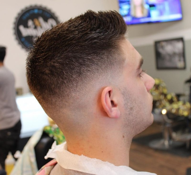 Different fade haircut styles