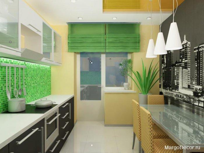 """Угловая кухня -""""киви"""" 8 м2 с балконом """" - карточка пользоват."""
