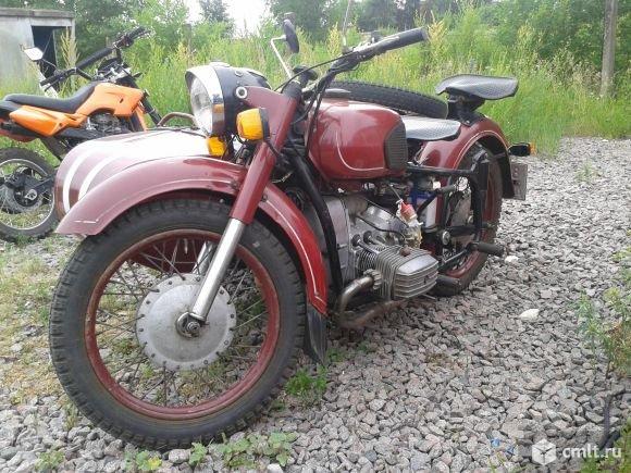 Брутальный МТ-9 Днепр 1974 года, для лихих деревенских покатушек #vintage #moto