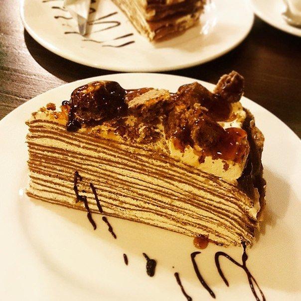 традиционно блинный торт рецепт со сметанным кремом фото этот раз