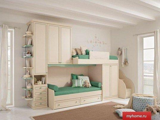 дизайн детской комнаты для двух мальчиков планировка для комнаты 10