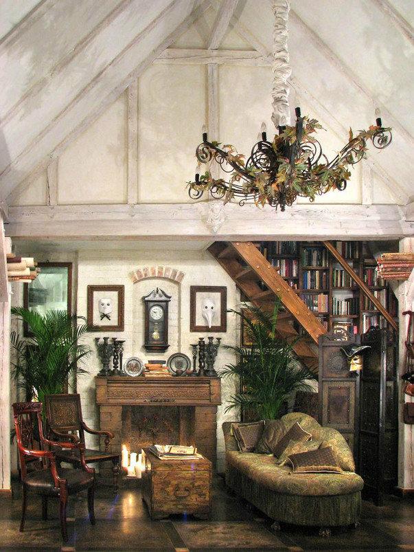Фото квартиры студии с мебелью.