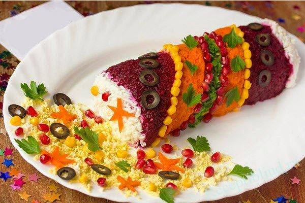Праздничный салат фото-рецепт