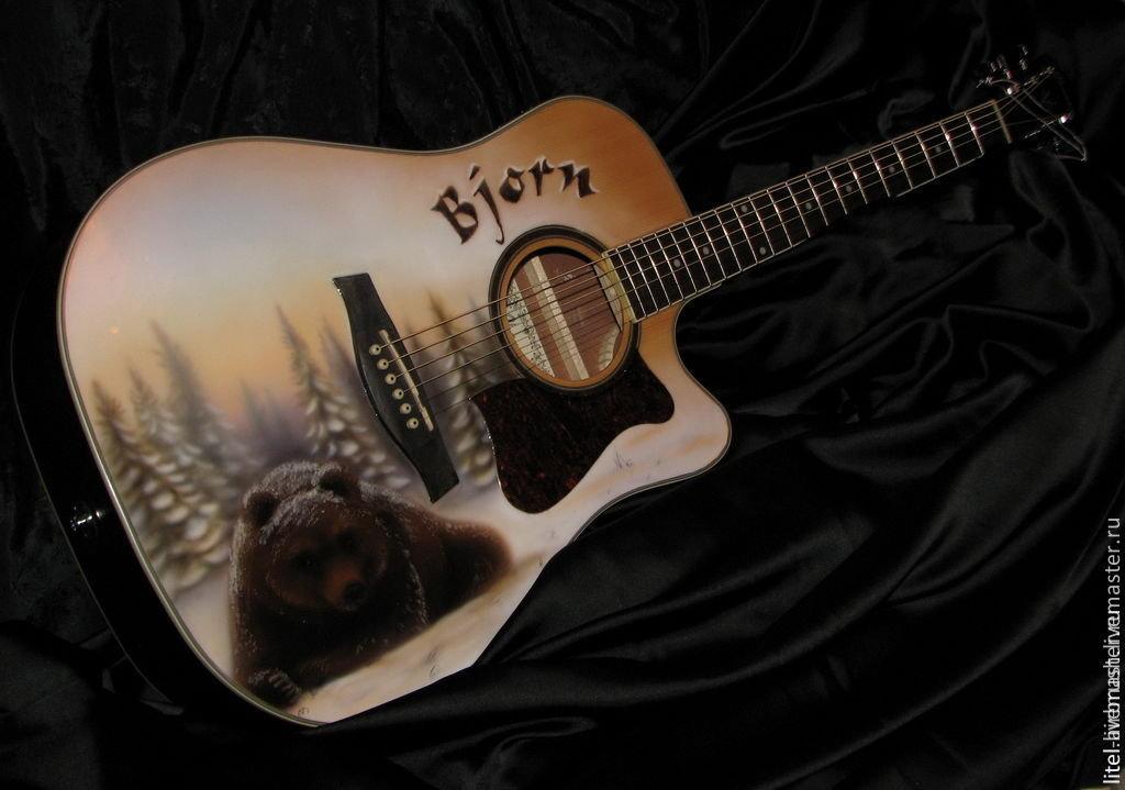 всего применяются рисунки на гитаре фото судя стоимости недвижимости
