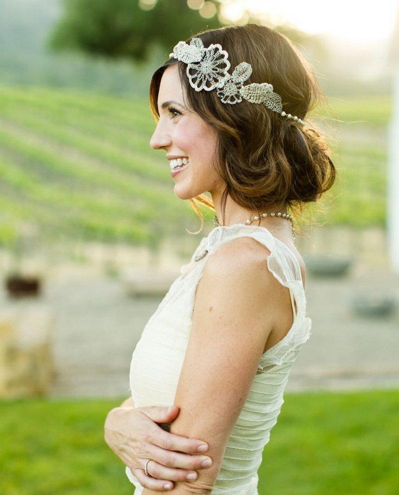 Роскошные свадебные прически