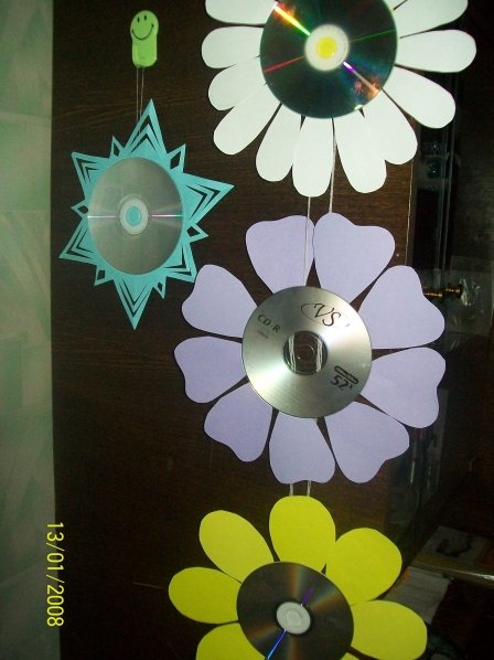 Поделки из мп3 дисков фото
