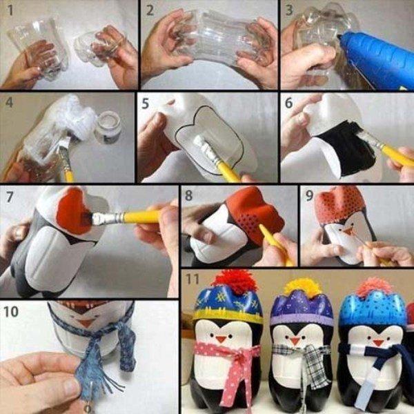 Детские поделки своими руками Детские поделки из пластиковых бутылок