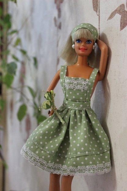 Платья для кукол барби своими руками фото