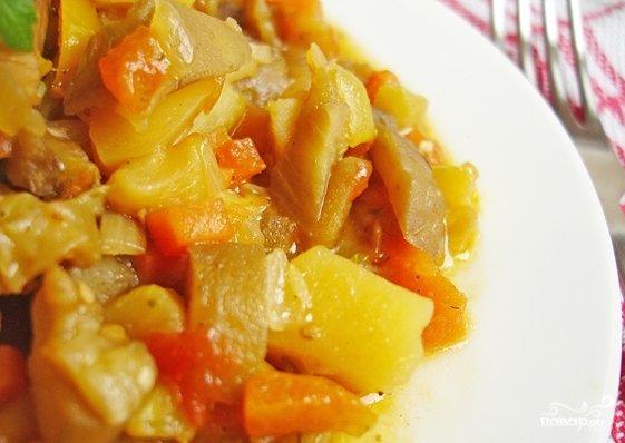 кабачок капуста картошка фарш