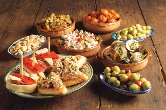 Тапас рецепты с фото испанская кухня
