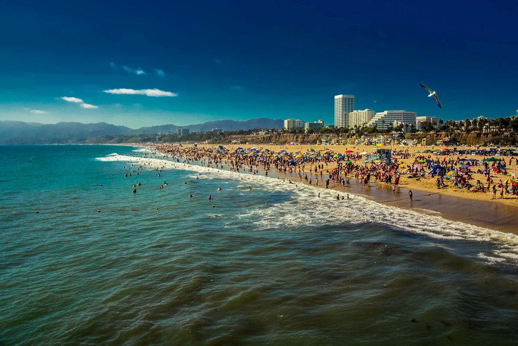 также лос анджелес фото пляж моя