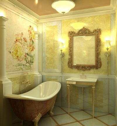 ванная уют