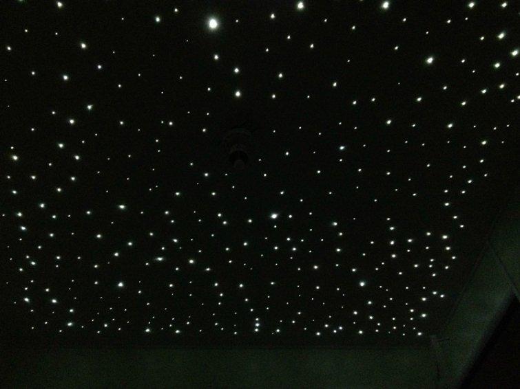 нам как сделать звездное небо на фото температура