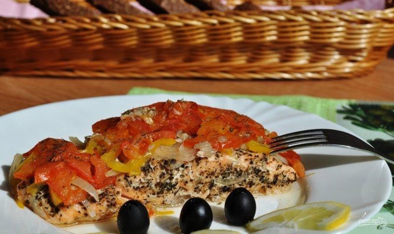 семга запеченная в духовке рецепт с фото